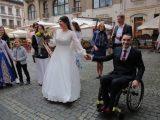 Герой війни на Сході України одружився у Львові