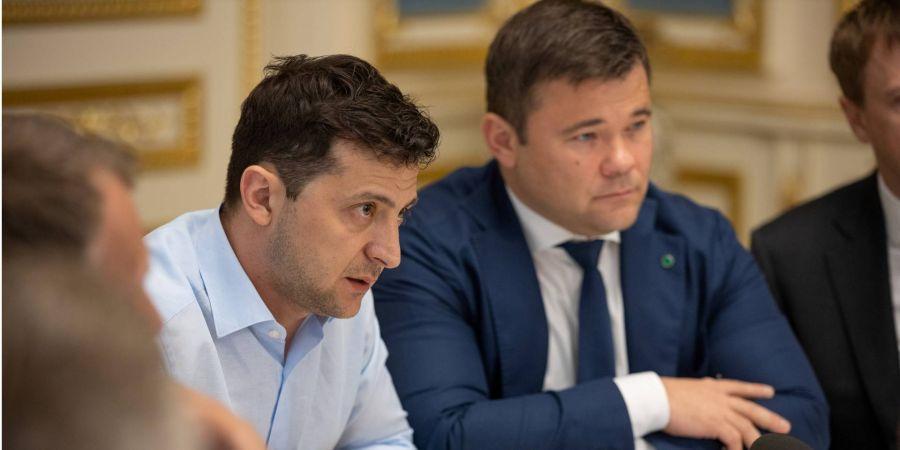 Голова АП та адвокат українського олігарха Коломойського Андрій Богдан