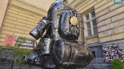 Пам'ятник наплічнику у Львові увійшов до Книги рекордів України