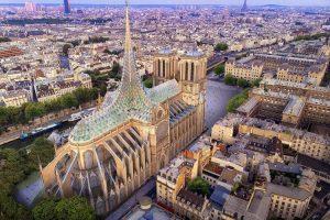 Французькі архітектори представили проект реставрації собору Паризької Богоматері