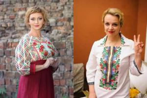 Римма Зюбіна та Ірма Вітовська. Обидві відмовилися від роботи в російському кіно … Справжні українки-берегині