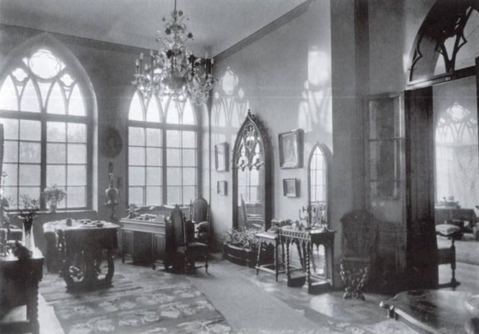 Внутрішній інтер'єр палау Туркулів-Комелло. Фото 1920-х рр.
