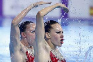 Українки здобули золоту нагороду з артистичного плавання Світової серії FINA у Барселоні