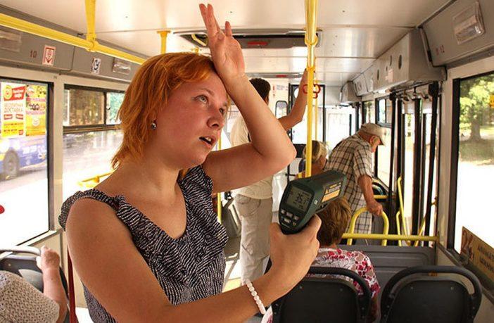тумпература громадський транспорт маршрутка літо спека душно