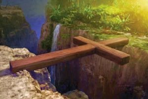 """Віршована притча """"Два хрести"""". Про те, як важко кожному нести свій хрест"""
