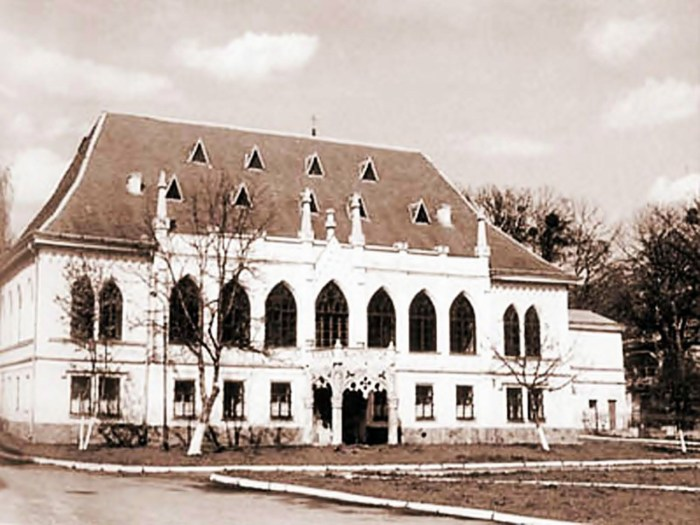 Фото палацу Туркулів-Комелло початку ХХ ст.
