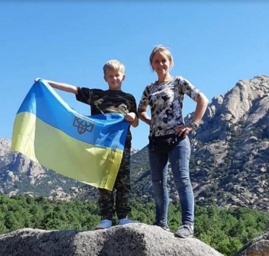 Наталія Кучер з сином