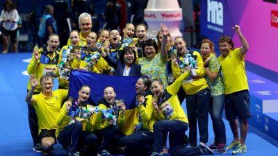 Україна – чемпіон світу з артистичного плавання