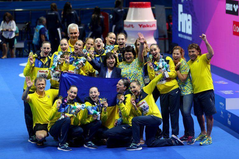 Україна – чемпіонка світу з артистичного плавання