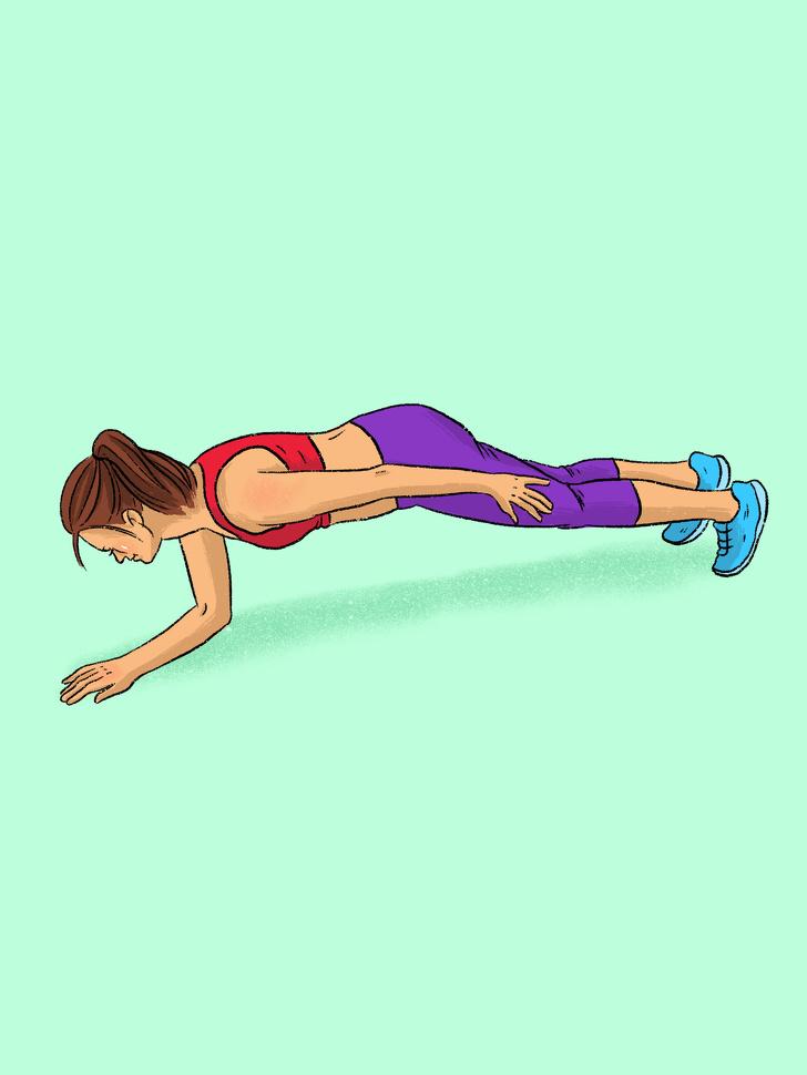 12 видів планки для всіх груп м'язів, які замінять абонемент до спортзалу