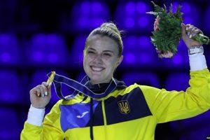Українська шаблістка Харлан виграла золото на етапі Кубку світу