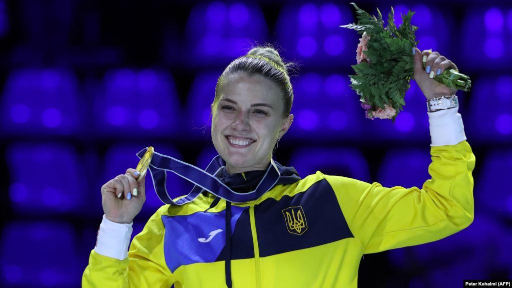 Ольга Харлан із новою медаллю, Будапешт, 20 липня 2019 року