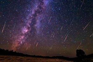 Сьогодні вночі українці побачать метеорний потік Персеїди