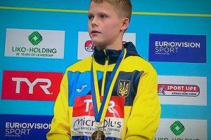 Увійшов в історію: 13-річний українець став наймолодшим у історії чемпіоном Європи зі стрибків у воду (відео)