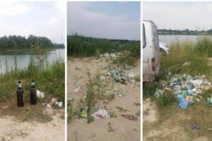 Прибирати має Порошенко чи Зеленський? Мережу обурили гори сміття, які залишають після відпочинку на водоймах Львівщини