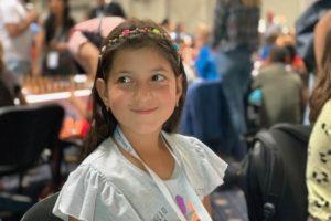 9-річна львів'янка здобула срібло на чемпіонаті Європи з шахів