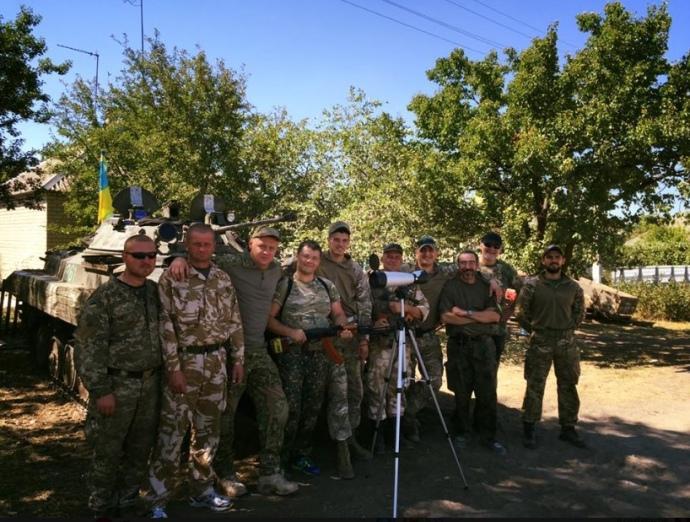 Богдан і військові