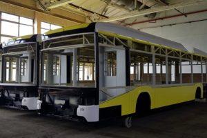 Як концерн «Електрон» збирає тролейбуси для Львова. Фото