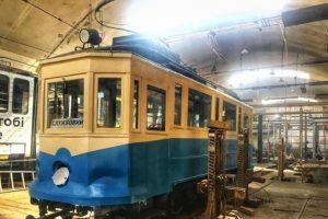 В День Незалежності Львовом проїде відреставрований ретро-трамвай