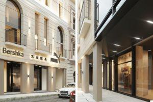 На початку Дорошенка збудують 22-метровий готель у центрі Львова. Візуалізація