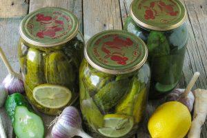 """Огірки на зиму """"Празькі"""" – оригінальний смак підкорить вас. Тепер щороку їх закриваю"""