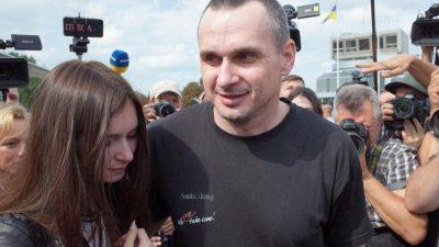 Олег Сенцов у Львові: де можна зустріти українського політв'язня