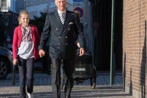 Донька короля Бельгії прийшла до школи у вишиванці