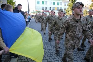 Як на Львівщині зустрічали 24-ту бригаду, яка повернулася з війни. ФОТО