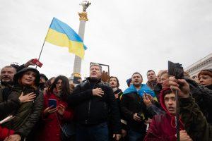 Порошенко прийшов на Майдан проти капітуляції. Фото