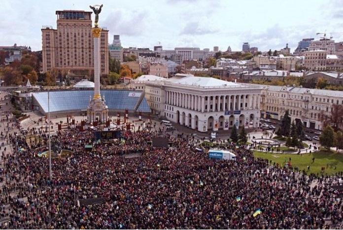 """""""Мої вітання, Володимире Олександровичу. Це рекорд! Так швидко ще ніхто не збирав Майдан…"""" – блогер"""