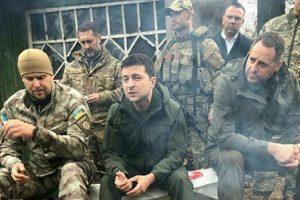 Зеленський про бій на Донбасі: Це – спроба зірвати мирний процес