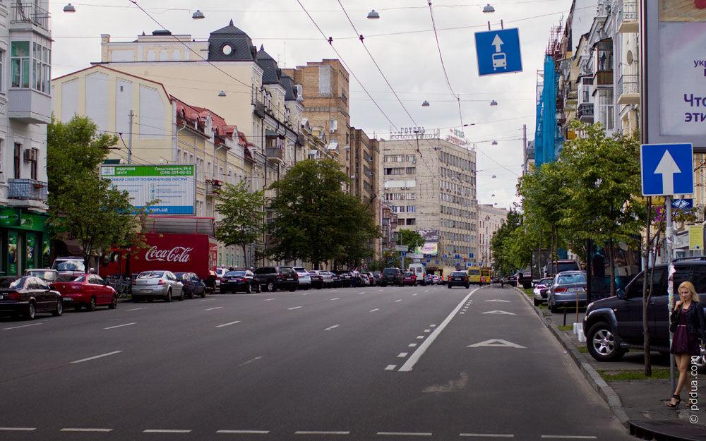 виділені смуги для руху громадського транспорту на дорозі