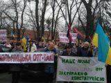 Мешканці Сокільників протестують проти приєднання до Львова і погрожують заблокувати аеропорт