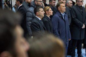 Зеленський взяв участь у урочистостях з нагоди Дня Гідності та Свободи