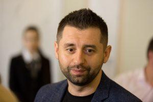 Арахамія вибачився перед українцями за пропозицію дати воду до окупованого Криму в обмін на Донбас