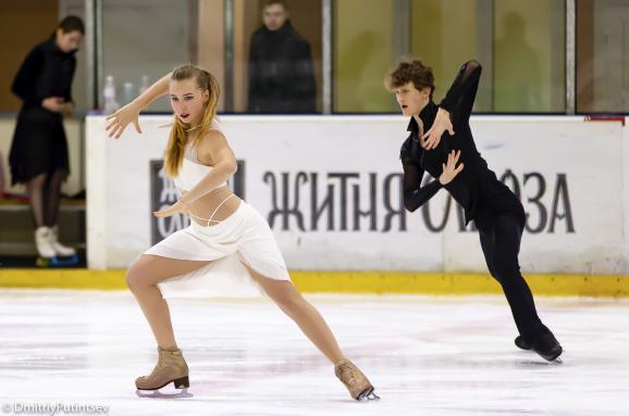 Український танцювальний дует Марія Голубцова та Кирило Бєлобров
