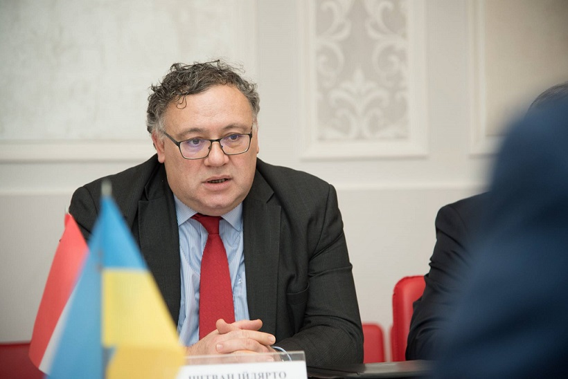 Посол республіки Угорщина Іштван Ійдярто