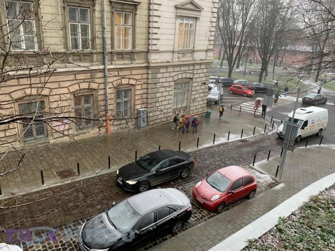 У Львові падає перший сніг. Фото