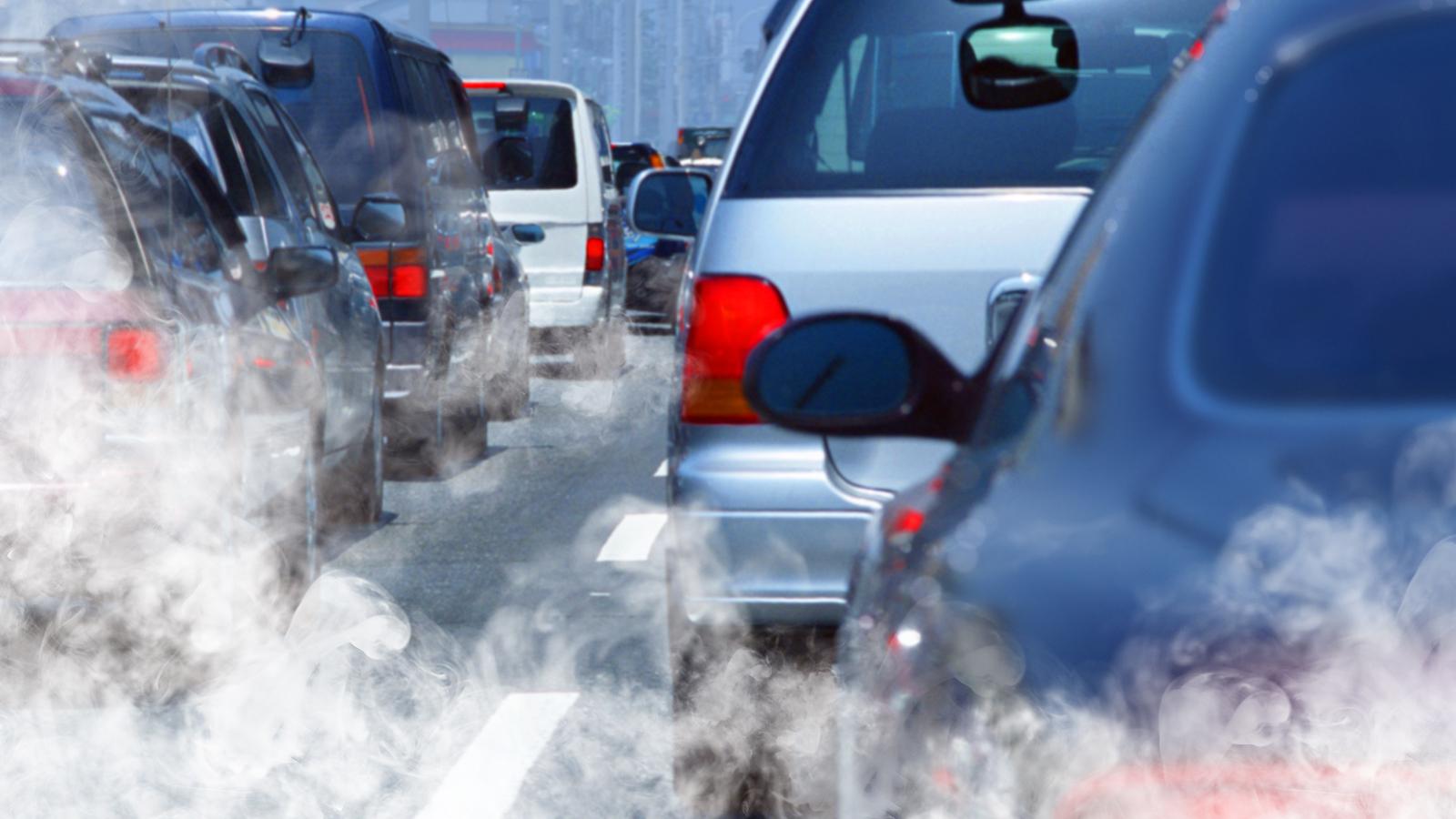 забружнення повітря вихлопні гази автомобілів