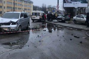 Унаслідок ДТП на вул. Пасічній у Львові загинула 3-річна дівчинка