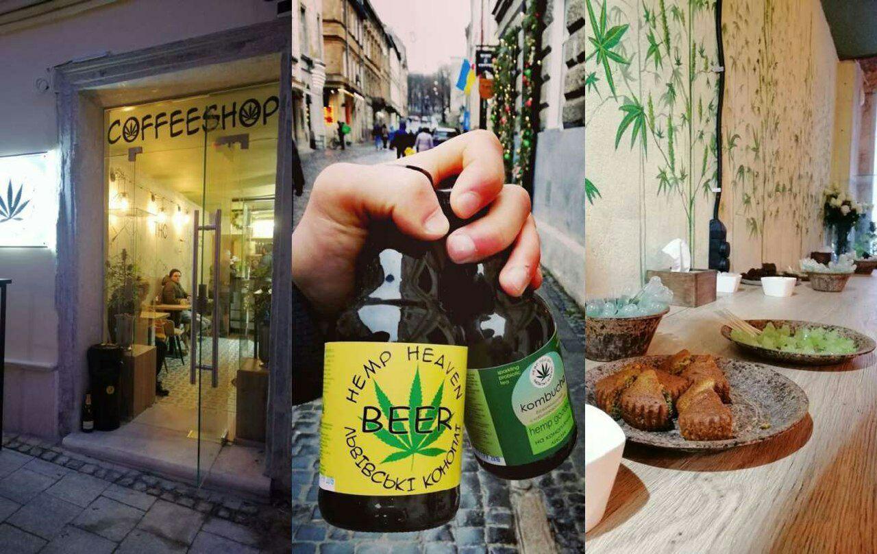 У Львові відкрили перше в Україні канабіс-кафе (фото)