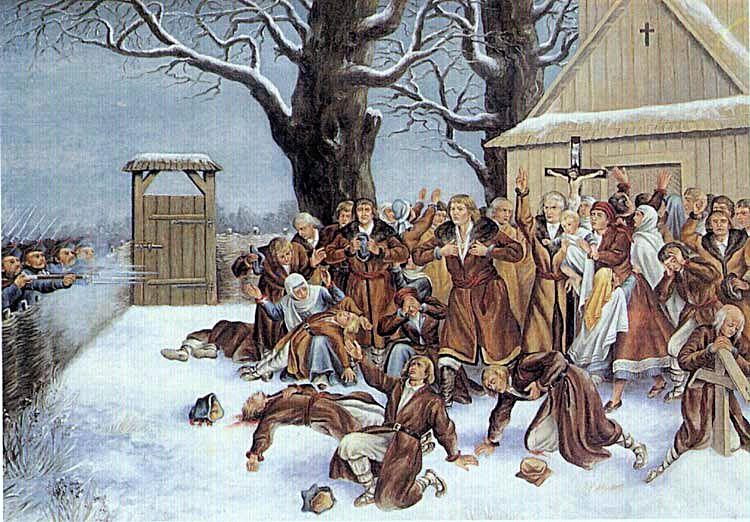 Пратулинські мученики 1874. Автор Валері Еляш-Радзіковські