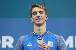 Український плавець встановив світовий рекорд (відео)