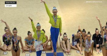 Юні українські грації везуть 18 медалей зі США (відео)
