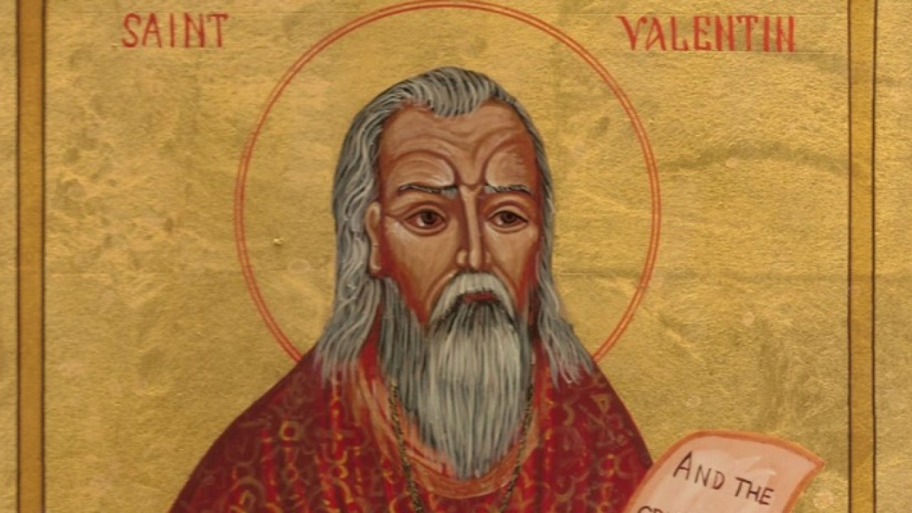 14 лютого - День святого Валентина (святий Валентин)