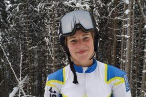 Львів'янка стала дворазовою чемпіонкою України з гірськолижного спорту