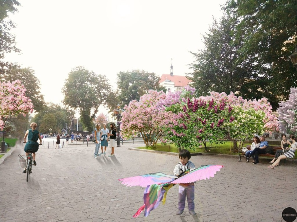 Як виглядав би Львів, якби його засадили бузком (фото)