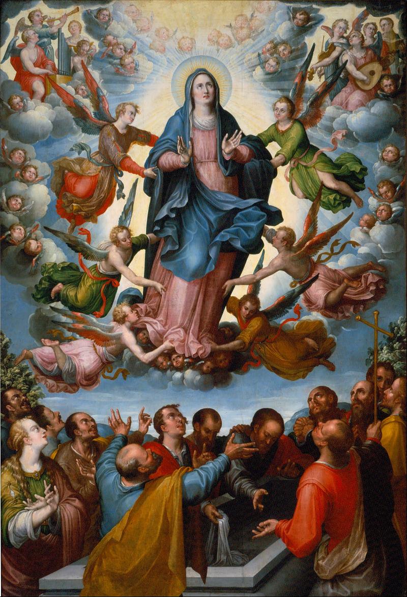 15 серпня - Внебовзяття (взяття на Небеса) Діви Марії.