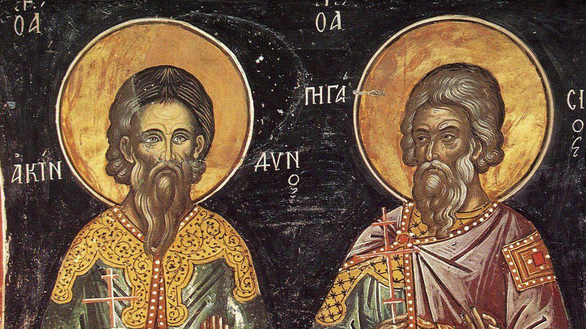 15 листопада - День святих Акіндіна і Пігасія