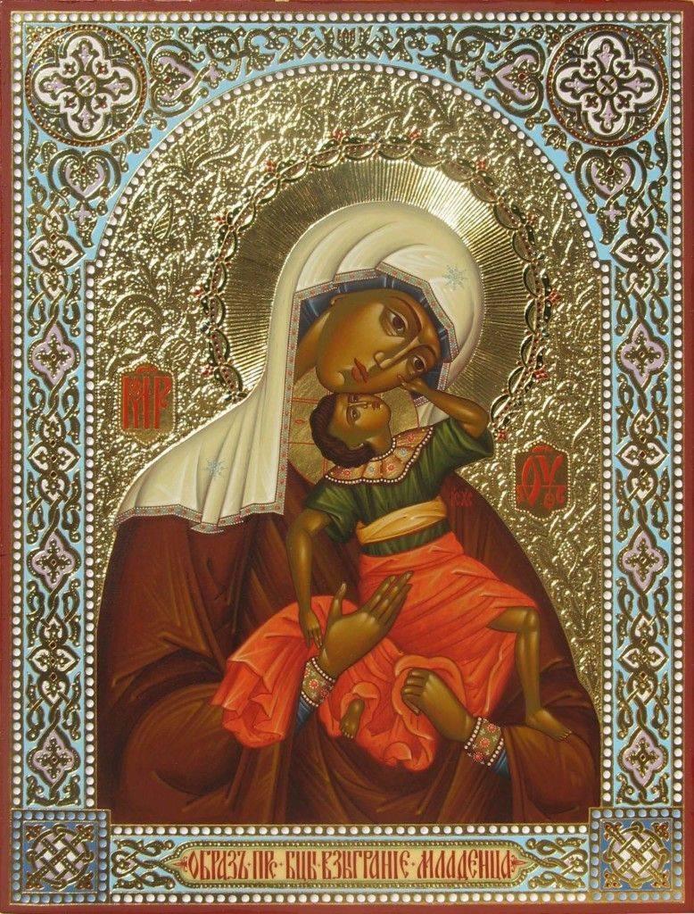 ікона Божої матері «Взиграніє немовляти»